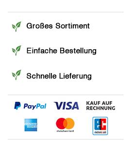 Zahlungsarten bei teemixer.de